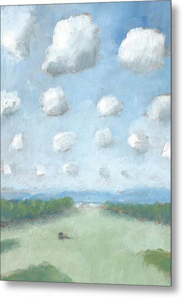 Into The Distance Part One Metal Print by Alan Daysh