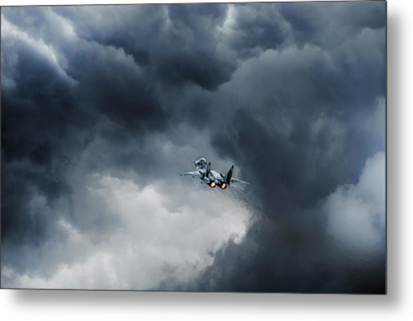 Into The Inferno Metal Print