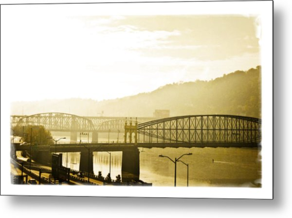 Metal Print featuring the photograph Into The Light by Joe Winkler
