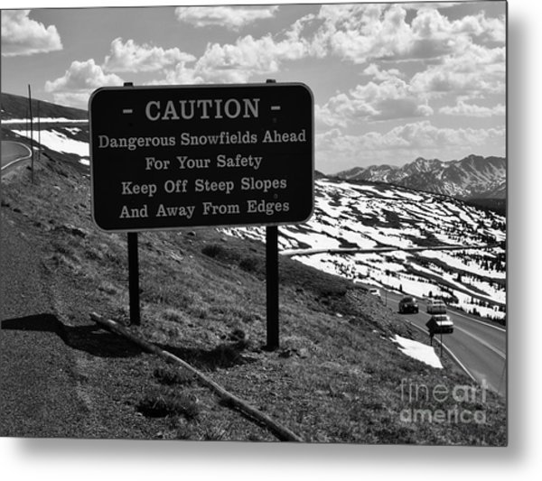 Into The Rockies Metal Print