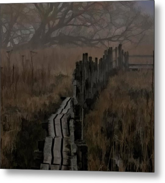 Into The Unknown  By Leif Sohlman Metal Print