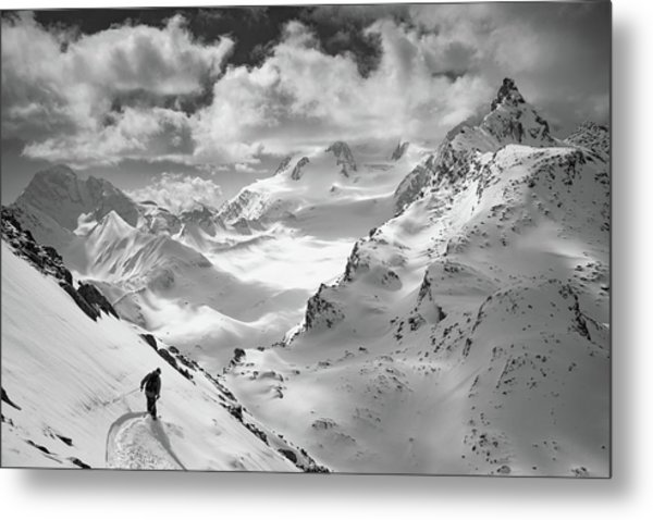 Into The Wild Metal Print by Jaff Mazouni