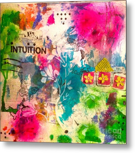 Intuition  Metal Print