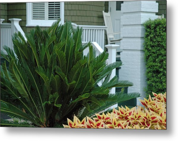 Inviting Front Porch Metal Print