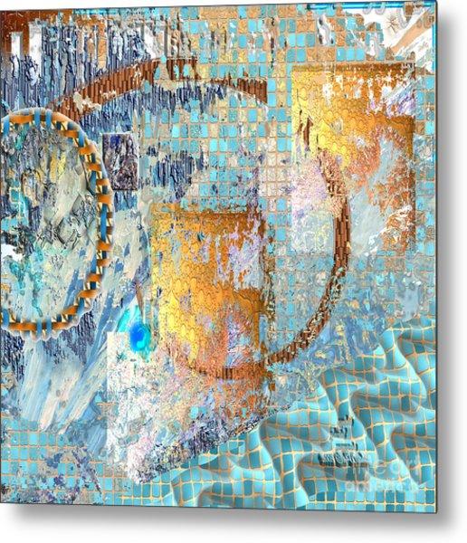 Metal Print featuring the digital art Inw_20a6020sq Ageless Glacial Memories by Kateri Starczewski