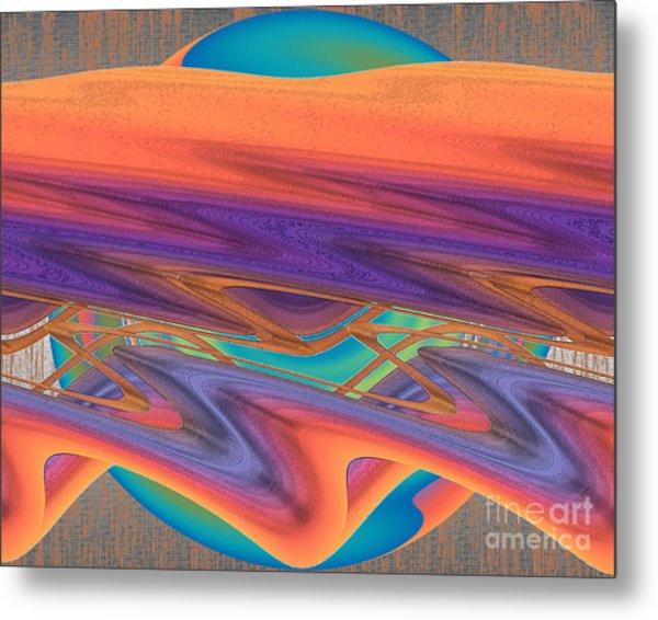 Inw_20a6033 Weaving    Metal Print