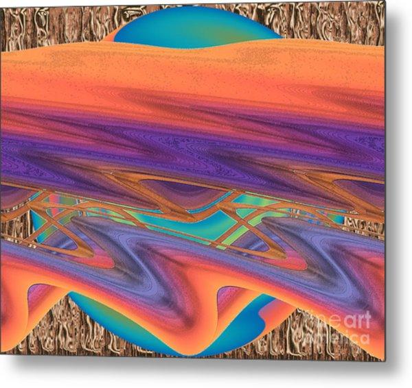 Inw_20a6037 Weaving Metal Print