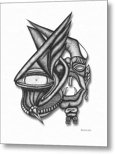 Ion Tiki Metal Print