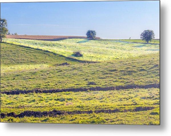 Iowa Farm Land #1 Metal Print