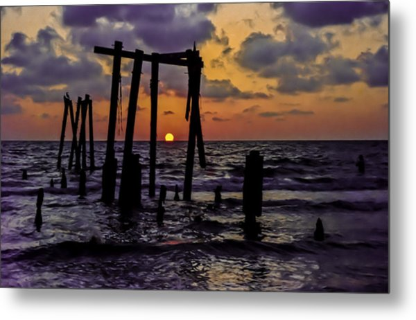 Irb Sunset Metal Print