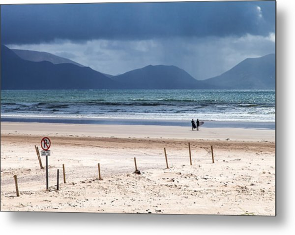 Ireland - Inch Beach Metal Print