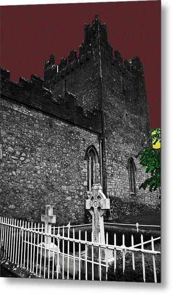Irish Cemetery Metal Print