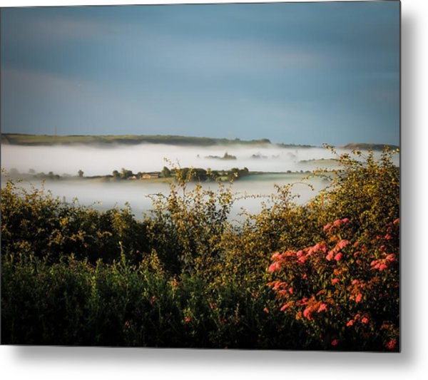 Irish Mist Over Lissycasey Metal Print