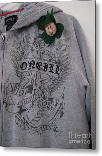 Irish  Oh Yeah Metal Print by Judyann Matthews