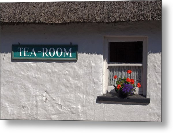 Irish Tea Metal Print