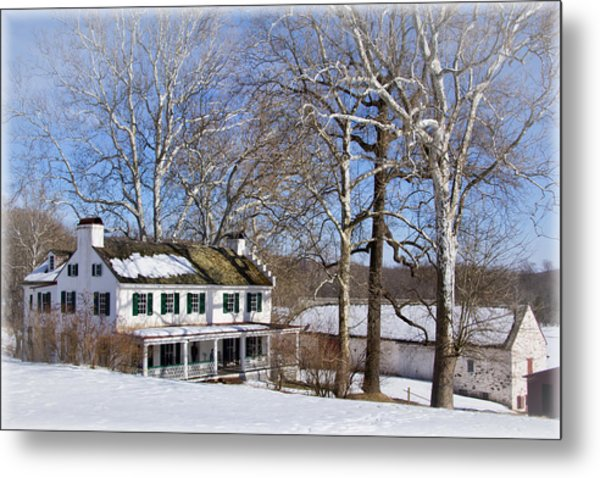 Ironmasters House Metal Print