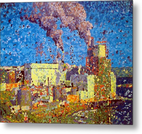 Irving Pulp Mill Metal Print