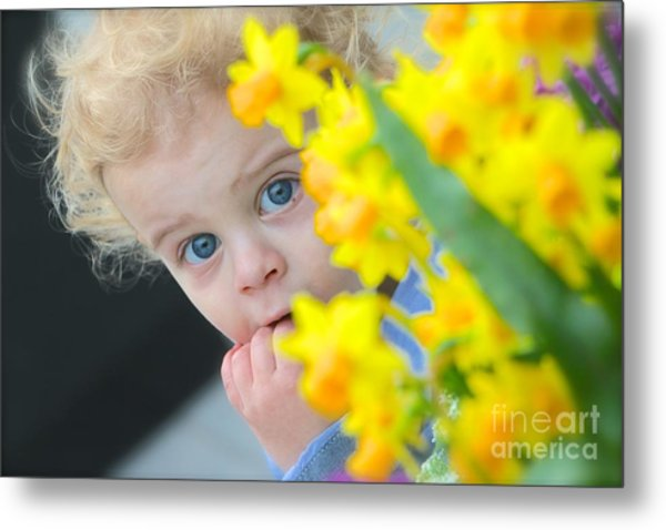 Is It Spring Yet Metal Print by Jay Nodianos