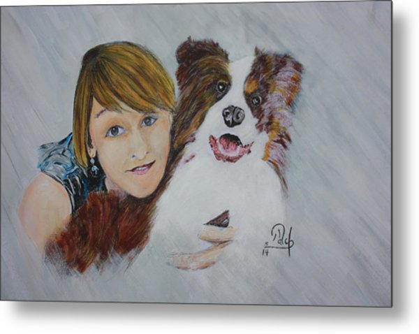 Isabell Metal Print by Klaus Rach