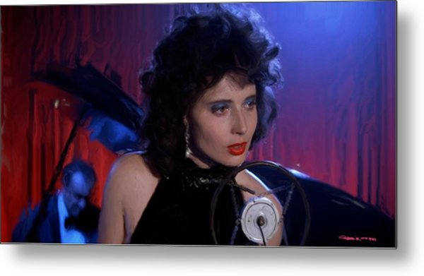 Isabella Rossellini In The Film Blue Velvet Metal Print