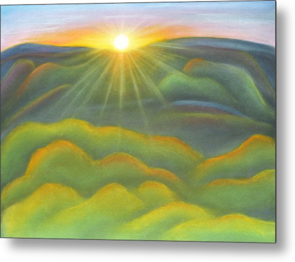 Isla Gorge Sunset Metal Print