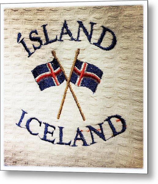 Island Iceland Metal Print