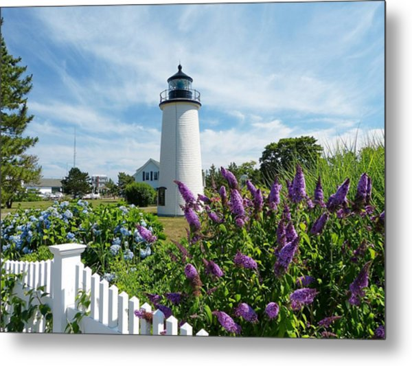Island Light Metal Print by Elaine Franklin