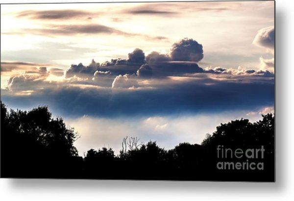 Island Of Clouds Metal Print