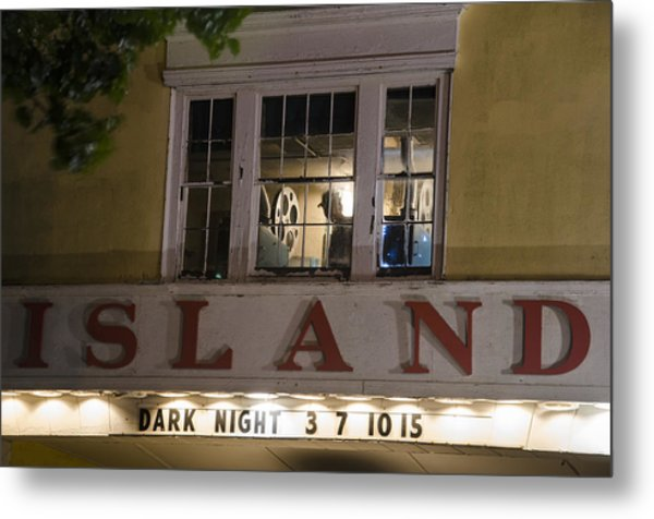 Island Theater Metal Print