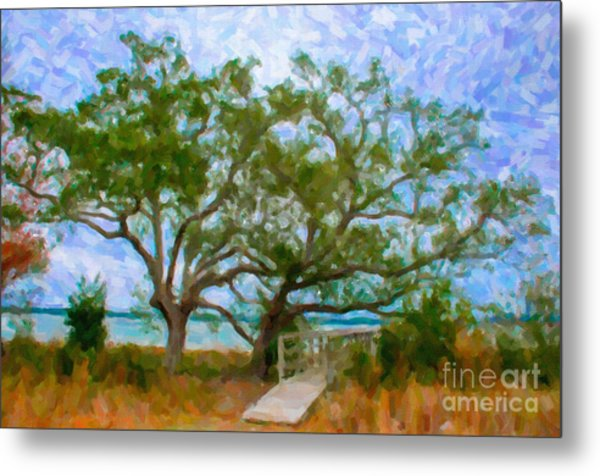 Island Time On Daniel Island Metal Print