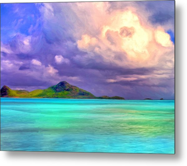 Islands In The Stream Metal Print