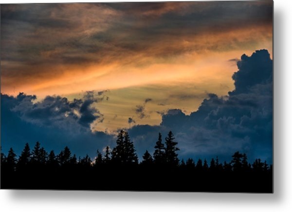 Isle Au Haut Sunset Metal Print