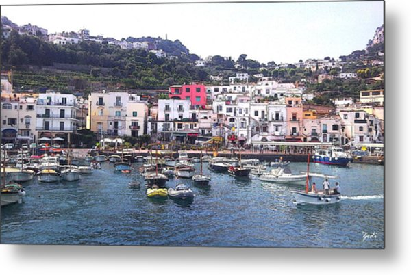 Isle Of Capri Metal Print