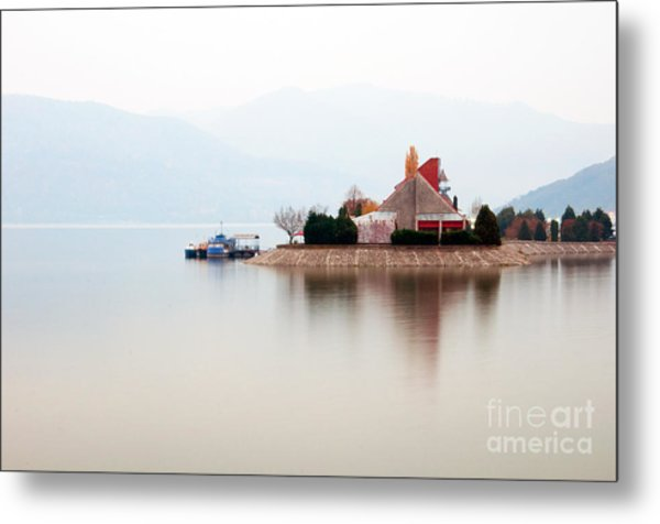 Isolated Metal Print by Ciprian Kis