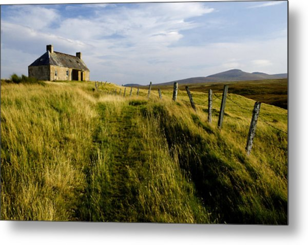 Isolation 2 The Northern Highlands Scotland Metal Print