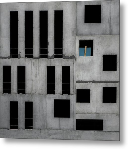 Isolation Cell Metal Print