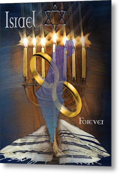 Israel Forever Metal Print