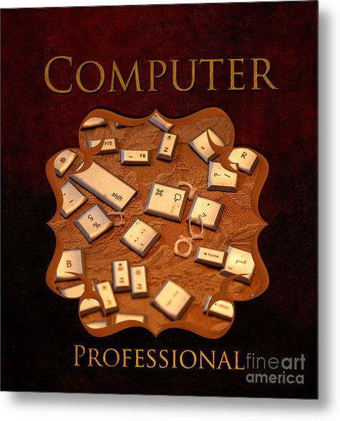 It Computer Professional  Metal Print