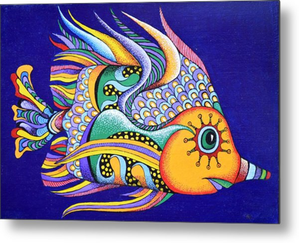 It Is Fun To Be Colorful Metal Print