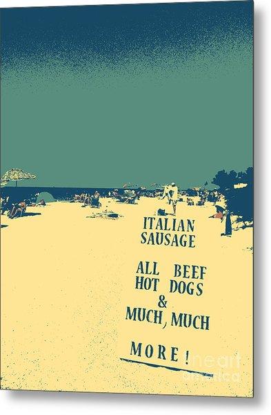 Italian Sausage Metal Print