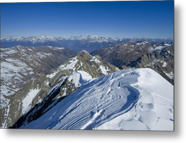 Italy Alps Metal Print by Ioan Panaite