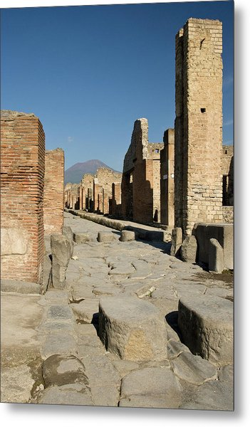 Italy, Campania, Pompeii Metal Print by Jaynes Gallery