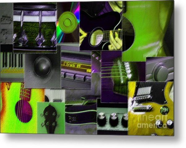 It's All About Music Metal Print