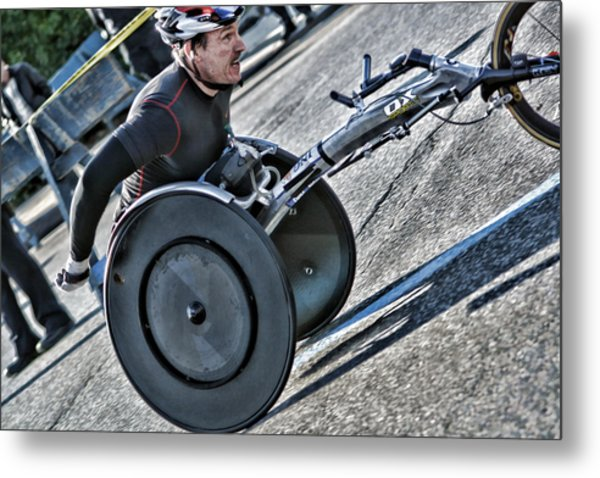 It's All Uphill From Here Metal Print