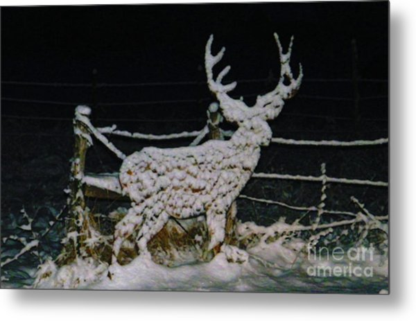 It's Cold Out Here Metal Print