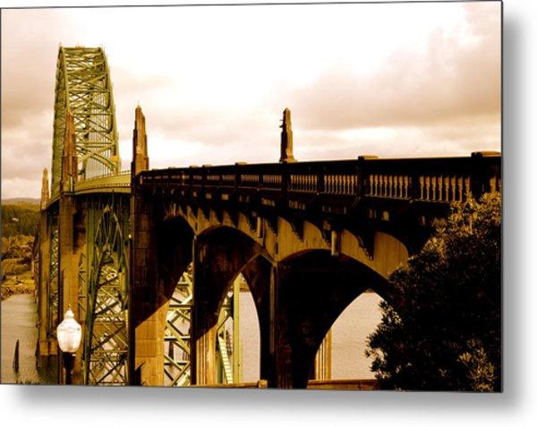 It's Water Under The Bridge 2  Metal Print by Sheldon Blackwell