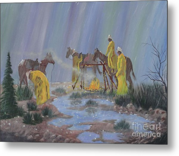 I've Seen Fire-i've Seen Rain Metal Print
