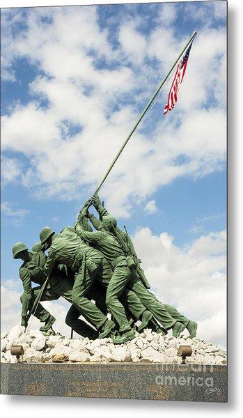 Iwo Jima Monument II Metal Print