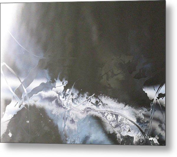 Ix - White Tree Metal Print