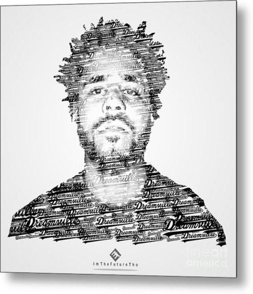 J. Cole X Dreamville X Imthefuturetho Metal Print